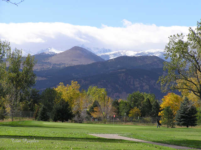 Flatirons Golf Course In Boulder