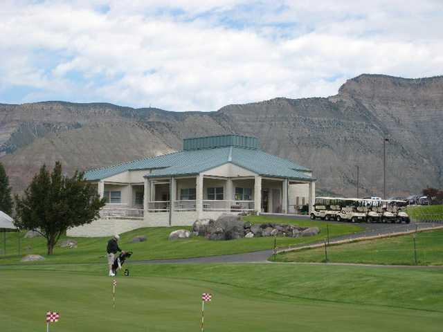 Battlement mesa battlement mesa colorado golf course information and reviews for Bookcliff gardens grand junction colorado