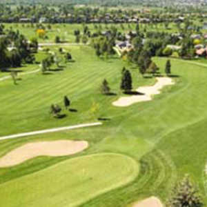 Ranch CC: Aerial view