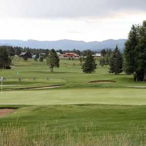 Pagosa Springs GC: Driving range