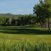 A sunny day view from Deer Creek Golf Club at Meadow Ranch.