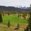 A view of the 1st fairway at Grand Lake Golf Course.