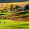 A fall day view from Meadows Golf Club.