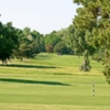 A view of a tee at Park Hill Golf Club.
