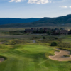 A view of hole #1 at Grand Elk Golf Course.