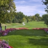 A view from a tee at Greg Mastriona Golf Courses at Hyland Hills
