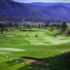 A view of a hole at Breckenridge Golf Club
