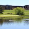 A view over a pond at Meridian Golf Club