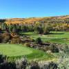 A view of Red Sky Golf Club in fall colors