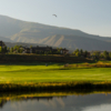 A view over the water from Gypsum Creek Golf Course