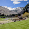 A view from a tee at Vail Golf Club