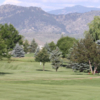 A sunny day view from SouthRidge Golf Club.