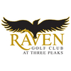 The Raven Golf Club at Three Peaks Logo